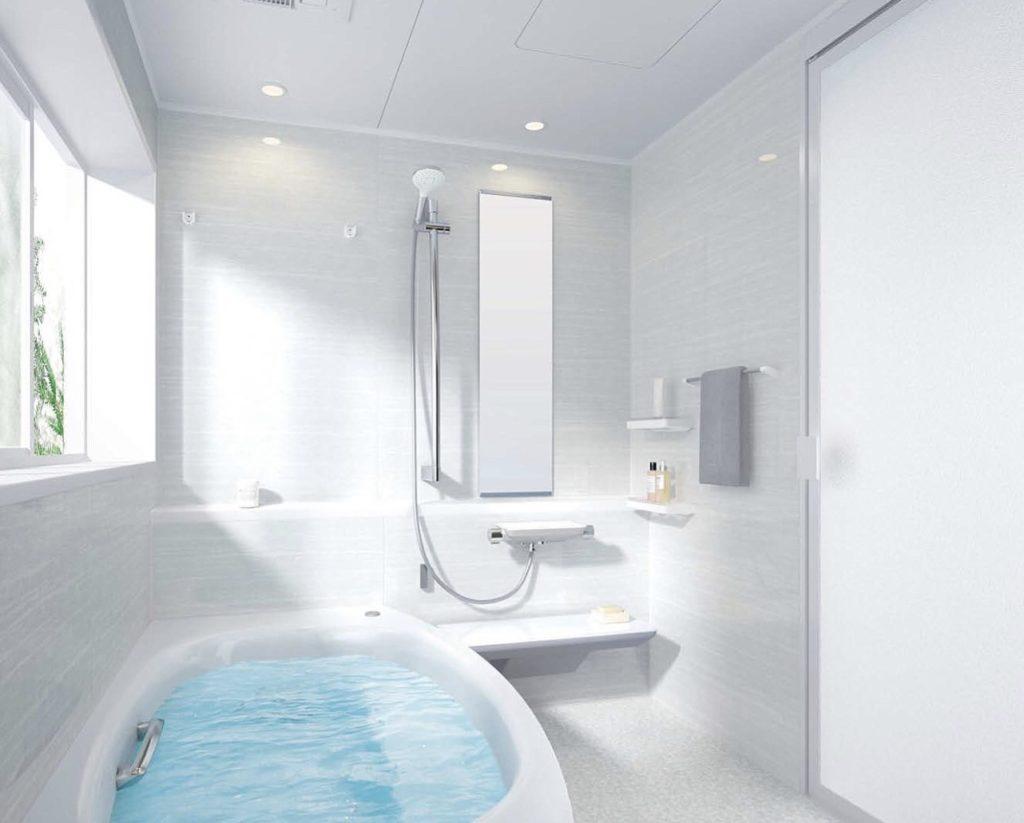 ゆったりと入浴できる浴槽のタイプも魅力的(1818タイプ設定例)